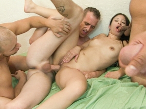 Bi Cuckold Gang Bang #08