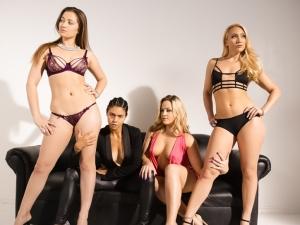 3 Lesbians Isn't a Crowd!