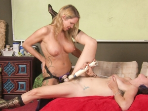 Lesbian Sex Education - Strap On