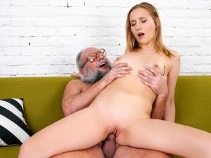 Kiki's Fun With A Horny Old Man