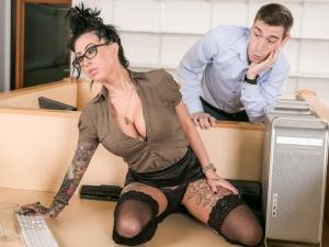 Big Tit Office Chicks #02