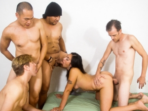 Bi Cuckold Gang Bang #12