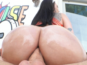 Busty Raven's Third Anal Scene Ever!