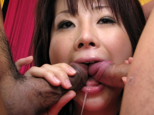 Hina Kawamura gets toys, cock and cum in slit