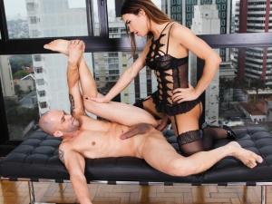 Sassy TS Kalliny's Big Cock Anal Date