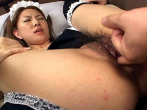 Yuka Koizumi is undressed and is fucked hard