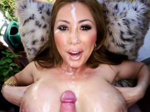 Kianna Dior Busty Asian Cum Slut