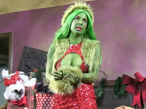 Behind How The Grinch Gaped Christmas